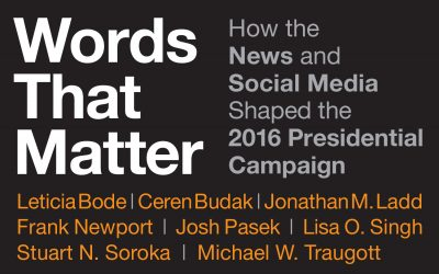 New Book: Words That Matter