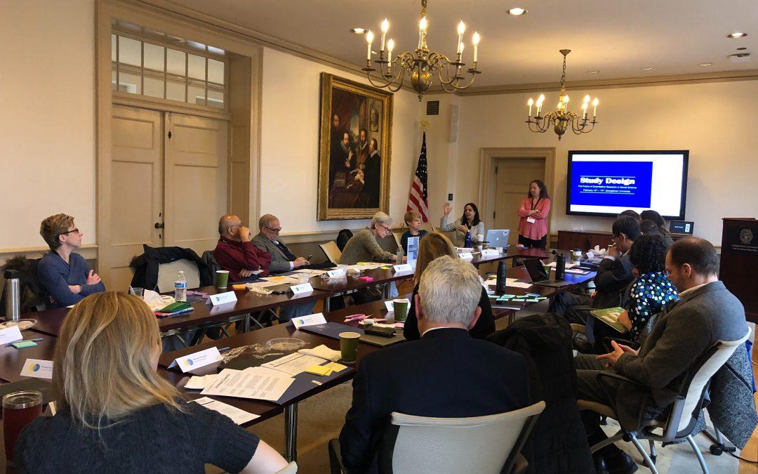 Study Design Convergence Meeting Held at Georgetown University