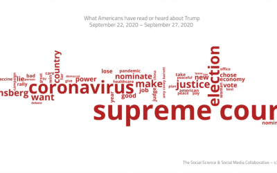 The Supreme Court, the election and coronavirus are on Americans' minds heading into Tuesday's debate (CNN)